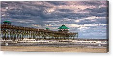 Storm Clouds Approaching - Hdr Acrylic Print