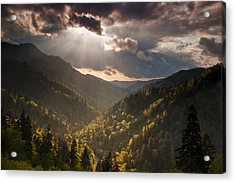 Storm Clouds Breaking Acrylic Print