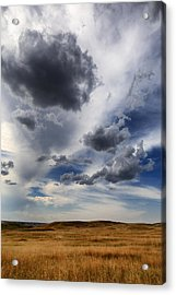 Storm Clouds Crooked Creek Township Sd Acrylic Print