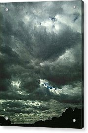 Storm Clouds Acrylic Print by Dennis Buckman