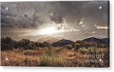 Storm Clouds Acrylic Print by Dianne Phelps