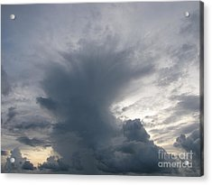 Storm Clouds Acrylic Print by Gayle Melges