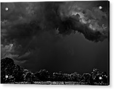 Storm Clouds Acrylic Print by Mark Alder