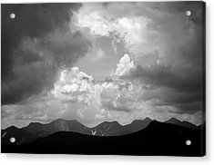 Storm Clouds Over The Great Range Acrylic Print