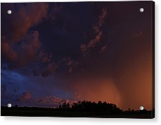Storm Clouds Over Yorkton IIi Acrylic Print