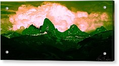 Storm Coming Acrylic Print by Aaron Carper