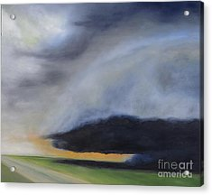 Storm Coming.. Acrylic Print