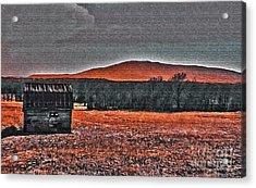 Storm Coming Acrylic Print by R McLellan