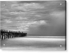 Storm Acrylic Print by David Mcchesney