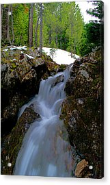 Acrylic Print featuring the photograph Storm Falls  by Kevin Bone