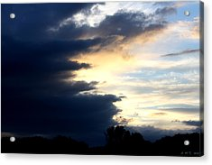 Acrylic Print featuring the photograph Storm Fingers by Amanda Holmes Tzafrir