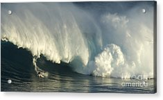Storm Front Acrylic Print by Bob Christopher