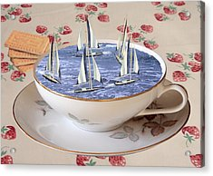 Storm In A Teacup Acrylic Print