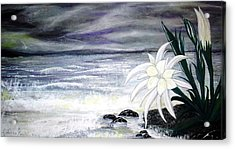 Storm In Spring Acrylic Print