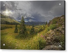 Storm In The Distance Acrylic Print