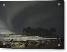 Acrylic Print featuring the photograph Storm Is Coming North West Wa by Yulia Kazansky