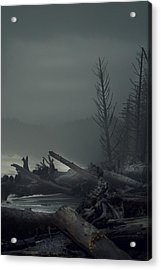 Storm Is Not Over. Acrylic Print by Yulia Kazansky