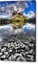 Storm Mountain II Acrylic Print by David Andersen
