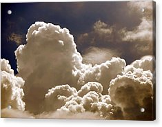 Storm Moving In Acrylic Print by Joy Bradley