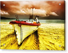 Storm On The Way 01 Acrylic Print by Kevin Chippindall