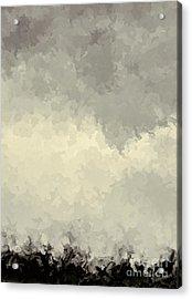 Storm Over A Cornfield Acrylic Print