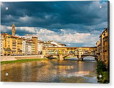 Storm Over Florence Acrylic Print