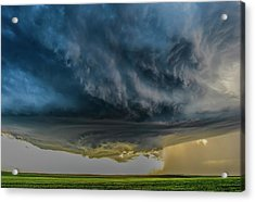 Storm Over Greenfield Acrylic Print