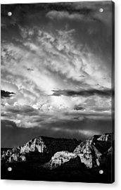 Storm Over Sedona Acrylic Print