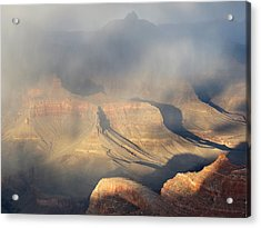 Storm Over The Grand Canyon Acrylic Print