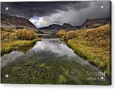 Storm Over Trappers Lake Acrylic Print