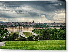 Storm Over Vienna Acrylic Print by Viacheslav Savitskiy