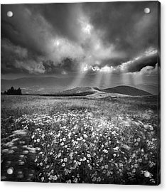 Storm Over Whitetop Mountain Acrylic Print