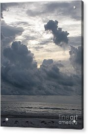 Storm Rolling In Acrylic Print by Gayle Melges