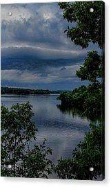 Storm Rolling Over Lake Wausau Acrylic Print