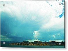 Storm Acrylic Print by Terry Thomas