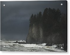 Storm At Lapush Washington State Acrylic Print