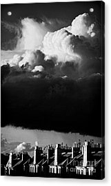 Acrylic Print featuring the photograph Stormclouds Approaching by Craig B