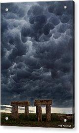 Stormhenge Acrylic Print