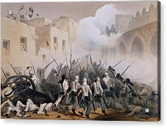 Storming Of Delhi 1857, From The Acrylic Print