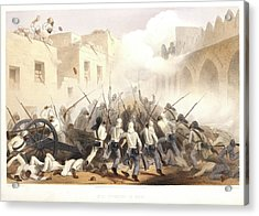 Storming Of Delhi Acrylic Print by British Library