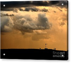 Storm's A Brewing Acrylic Print by Steven Reed
