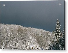 Acrylic Print featuring the photograph Storm's A'brewin' by David Porteus