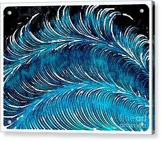 Storms At Sea Acrylic Print