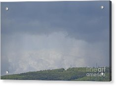 Acrylic Print featuring the photograph Storm's Coming  by Christina Verdgeline