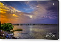 Storms Rolling In Acrylic Print by Marvin Spates