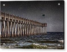 Stormscape Acrylic Print by Sennie Pierson