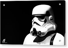 Acrylic Print featuring the photograph Stormtrooper by Chris Thomas