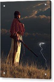 Stormwatcher Acrylic Print