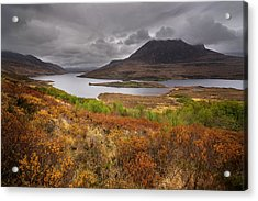 Acrylic Print featuring the photograph Stormy Afternoon In Scotland by Maciej Markiewicz