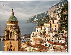 Stormy Amalfi Acrylic Print